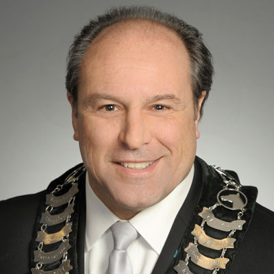 Mayor Steve Pellegrini, Township of King