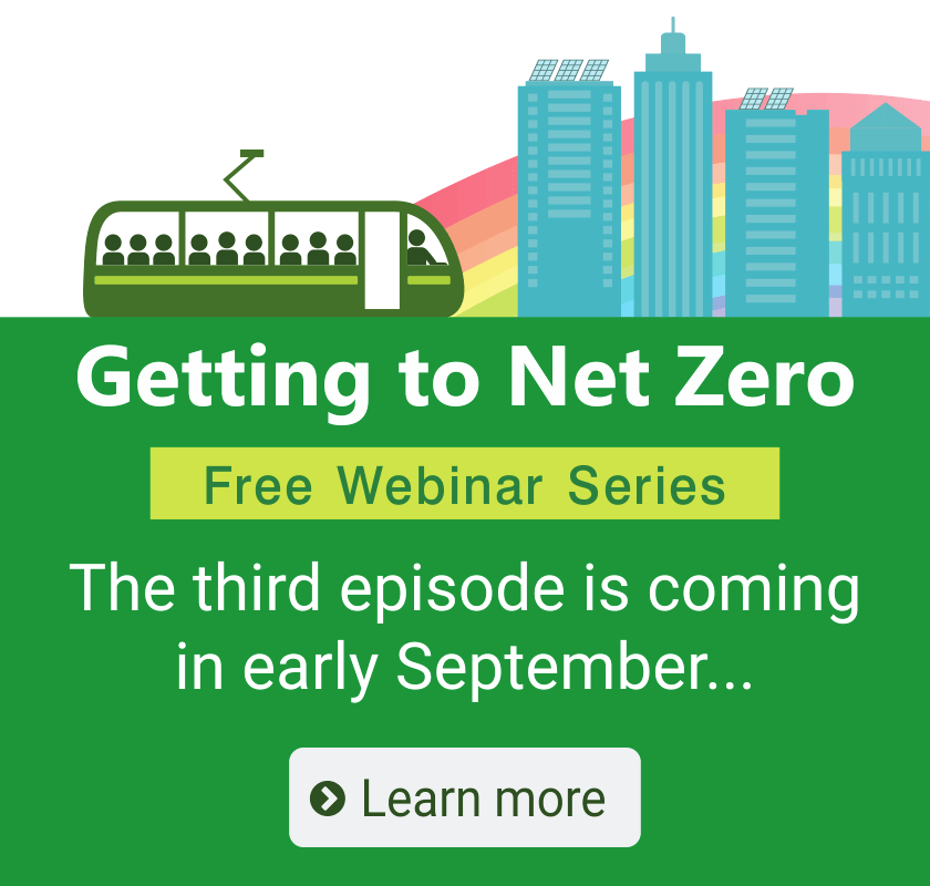 Getting to Net Zero: Free webinar series continues in early September