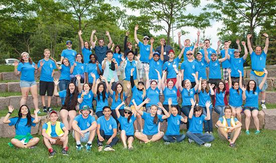 Windfall Ecology Festival Volunteers